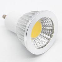 Wholesale ampoule led 3w for sale - Group buy NEW W W W COB LED Spotlight GU10 V Dimming Spot LED Lamp AC V Lampada LED Bulb Spot Light Candle Ampoule