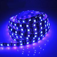levou luzes tiras china venda por atacado-Luzes LED Strip Flexível Preto 5050SMD DC12V 60 LEDs 14.4 W 5 M Roll Duplo Cor Vermelho Verde À Prova D 'Água Ao Ar Livre Decorações China Atacado