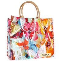 Wholesale Handbag Marketing - Fashion Europe Waterproof PVC Reusable Large Capacity Bag Travel Eco-friendly Shopping Bags Market Tote Designer Handbags