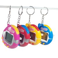 Wholesale Battery Operated Animal Toys - 2017 Hot Sell Electronic Kids Toys Beyblade Christmas Gifts Retro Virtual Pet 49 In 1 Cyber Pets Animals Toys Funny Tamagotchi Kids b1516