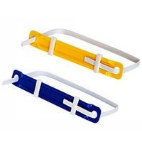 Wholesale offices supplies list resale online - New Plastic Binder Clips File Binding File List Components Office School Supplies Two hole Loose leaf Binder
