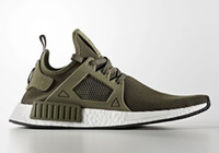 Wholesale Wine Red Boots - Olive Green NMD XR1 Primeknits Men and Women Sneakers Wine Red Sports Running Kanye West Shoes With Box