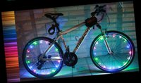 Wholesale Led Strip Bicycle - 2M USB Rechargeable LED Bicycle Wheel Lights Tire Light Motorcycle Light Strip Waterproof LED Cycling Cool High Quality Light #18
