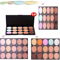 Wholesale Tool Party - HOT 15 Colors Concealer Foundation Contour Face Cream mini Makeup Palette Tool for Salon Party Wedding Daily DHL shipping MR043