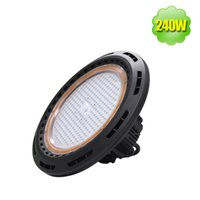Wholesale Indoor Outdoor W LED High Bay Light UFO Fixture Replace W Warehouse Gymnasium K Daylight Lm IP65 Industrial Lighting