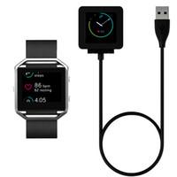 montre-bracelet usb achat en gros de-Chargeur magnétique de puissance USB pour batterie Fitbit Blaze remplacement de la station d'accueil de la station d'accueil 1m 3ft cordon pour montre intelligente montre-bracelet le plus récent
