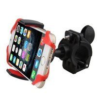 Wholesale phone holder for mountain bike for sale - Group buy Cycling Mountain Bike Phone Holder Bicycle Handlebar Mount Mobile Phone Holder Silicon Band for iphone S for Samsung Smartphone
