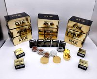 Wholesale Eye Shadow Cream Singles - Kylie Birthday Edition Creme eye Shadow Eyeshadow Cream Makeup Creme Shadow Copper And Rose Gold 5colors Kyshadow Kit Kylie Cosmetics