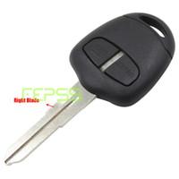 Wholesale Mitsubishi Button Key - 2 Button Remote Key Shell Case Fob for MITSUBISHI Outlander Grandis Lancer