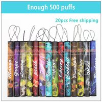 Cigarette E Shisha Narguilé Pen électronique jetable Tuyau Pen Cigar Fruit Juice E Cig bâton Shisha Temps 500 Puffs Colorful 35 Flavors