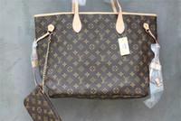 Wholesale Styling Organizer - wholesale classic famous luxury brand women wallets new quality female shoulder bag tote handbag (N41357)3 color women's mother bag purse