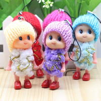 Wholesale Mini Clay Dolls - Small gifts, activities, gifts, mini nipples, plush dolls, pendants, small gifts, creative gifts