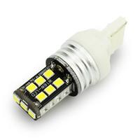 Wholesale Canbus Error Free - 1.7W DC12V White T20 1156 2835 15SMD Car LED Canbus Light Error Free Double Polars Brake Lamp Reverse Lights 2PCS JTCL087-ly
