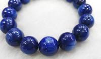 Wholesale Natural Blue Kyanite - high quality 6-12mm Natural Kyanite Gemstone Round Dark blue flashy Evil eyes Beads,kyanite bracelet