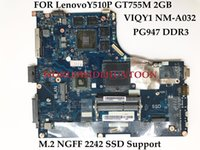 Wholesale Lenovo Ideapad Motherboards - Wholesale 90003636 for Lenovo Ideapad Y510P Motherboard VIQY1 NM-A032 HM86 PGA947 DDR3 GT755M 2GB 1920*1080 100% Fully Tested