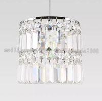 Wholesale Single Crystal Pendants - Modern brief bedroom dining room Crystal pendant light creative bar single head pendant lamp FREE SHIPPING MYY