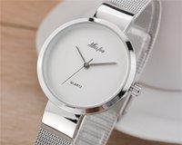 Wholesale Kimio Ladies Watches - New Fashion Kimio Hot Sale reloj mujer Ladies Retro Watches silver Swiss brand Women Steel wristwatches Quartz ladies watch