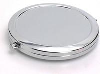 антикварные декоративные зеркала оптовых-Бесплатная доставка 500 шт. / лотбланк компактное зеркало с 58 мм эпоксидные наклейки DIY компактный зеркало для макияжа
