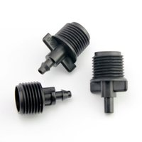 Wholesale Micro Capillary - male connector garden water connector lawn greenhouse Capillary Micro sprinkler drip irrigation diy watering tool part