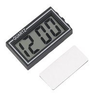 Wholesale Plastic Dashboard - NEW Digital LCD Table Car Dashboard Desk Date Time Calendar Small Clock new arrival Worldwide Store