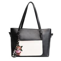 Wholesale Ladies Fashion Ornaments - Designer Bags Famous Brand Women Bags 2017 New Bear PU Leather Ornaments Fashion Female Shoulder Bag Ladies Handbag Clutch Bag
