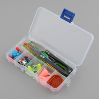 Wholesale Sewing Knitting Supplies - Basic Sewing Knitting Crochet Tools Accessories Supplies with Case Knit Kit Lots