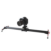 Wholesale Track Dolly For Dslr - Free Shipping for S3 40 Inch DSLR Camera Slider Dolly Track Video Stabilizer with 22lb 10kg Load Capacity with 4 Damping Adjustable Bearings