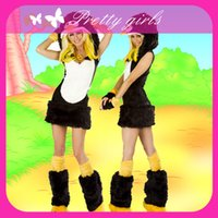 Wholesale Penguin Fancy Dress - Wholesale-Crazy in Love Adult Animal Deluxe Penguin Costume Girl Sexy Adult Cosplay Party Outfits Animal Fancy Dress Costumes M4741