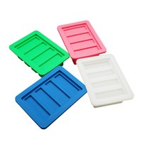 Wholesale Silicone Soap Bar - Gourmet Silicone Butter Mold w  Lid For Herbal Butter, Soap Bar, Muffin, Brownie, Cornbread, Cheesecake. FDA Approved