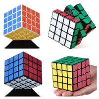 speed cube stickerless - 2016 New mm Shengshou Magic Cube x4x4 Speed Professional Puzzle Cubo Magico Snake Stickerless Intelligent Toy Magic Curler