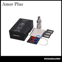 Wholesale ti coil for sale - Authentic Wismec Amor Plus Tank ML Fit Presa TC75W Ni Ti and RBA Coils Supported