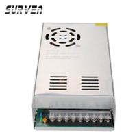 spannungsschalter netzteil großhandel-Großhandels-SURVEN 24V 20A 480W Spannungs-Transformator-Schalter-Stromversorgungs-Schalttreiber-Adapter für geführtes Streifen-Licht 110V / 220V