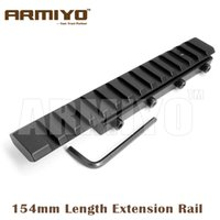 Wholesale 11mm Mounts - Armiyo 154mm Length Extended Dovetail 11mm Extension to 20mm Picatinny Rail Adapter Mount Fixture Hunting