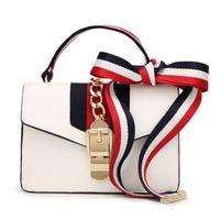 Wholesale Clutch Bags For Casual - Sylvie GC Famous Designer PU Leather Bag Wholesale For Women Shoulder Handbag Crossbody Leather High Quality Clutch Purse HG091903
