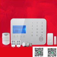 Wholesale gsm wireless alarm smoke detector resale online - remote control wireless zones app touch keypad perimeter security PSTN alarm gsm casa console with motion detector