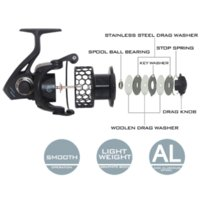 cheap saltwater fishing reels spare spool | free shipping, Fishing Reels