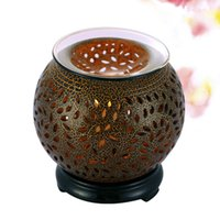 Wholesale Aroma Therapy - Wholesale- Creative Electric Fragrance Diffuser Aromatherapy Humidifier Ceramic Fragrance Lamp Essential Oil Warmer Burner Aroma Therapy