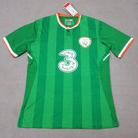 Wholesale National Green - Thailand 2017 2018 Ireland soccer jerseys Republic of Ireland national jersey 2018 World Cup KEANE Daryl home away football soccer shirts