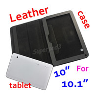 Wholesale tablet a83t for sale - Group buy 100pcs DHL Freeshipping Solid Black Folding Folio Cover PU Leather Protective Tablet Case For For A33 A83T Inch Cheapest