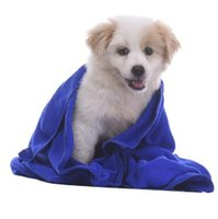 Wholesale Wholesale Pet Dryers - 40*60cm Pet Supplies Microfiber Dog Towel Drying Towels Fashion Pet Bath Towels Hypoallergenic Chemical Free Cleaning Cloth CCA6958 100pcs