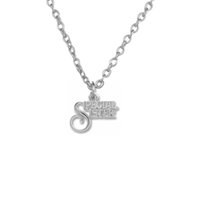 South American special sister gifts - New trend necklace Zinc Alloy k Gold or Rhorium Plated Word Special Sister Pendants Necklaces Good Luck Mother s Day