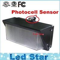 Wholesale Sensor Pack - Photocell Sensor LED wall pack light 60W 80W 100W 120W Waterproof IP65 wall mount led light LED outdoor wall light ac 85-265v