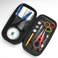 Wholesale vape rebuilt tools kit for sale - Group buy DIY Coiling Kit E Cigarettes For RDA Atomizers Vaporizer Tool kit DIY Coil Tool kit For RDA RBA Atomizer Rebuilding Vape Mod