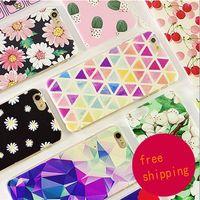 Wholesale Iphone 5c Cases Colours - For iPhone4s iPhone5 5c 5s iPhone6 6s 7 iPhone6 6s 7 plus PC dull polish shell colour decoration phone case Opp Bag
