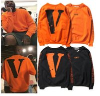 Wholesale Exo Pullover - Hip Hop Pyrex OFF WHITE Hoodies Exo GD Pyrex Religious Twill 13 justin Bieber The Same Paragraph Men Hooded Hoody Sweatshirts
