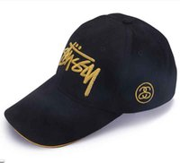 Wholesale Hat Custom Man - 3D Embroidered Caps men&women Hat Adjustable and Cotton casual baseball sunscreen hat custom logo fashionable advertising hat