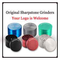 Wholesale Factory Stone - Premium herb grinders Sharp stone Grinders 4parts zink alloy Herb Grinders 40 50 55 63 OEM factory price Grinder for totacco