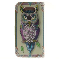 owl tiger - For LG K10 k8 k7 k4 G4 Stylus Leon G5 V10 Owl tiger Lion cute skin Flip wallet stand Leather case TPU Gel Rubber Card cover cases