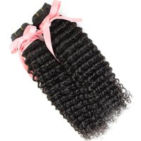 """Wholesale Dhgate Unprocessed Malaysian Hair - 100% Malaysian Human Hair Weave Double Weft Extensions 8""""~30"""" 2PCS Unprocessed Remi Hair Natural Color Dyeable 7A Deep Wave DHgate Hair"""