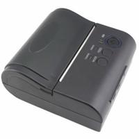 Wholesale Dot Matrix Receipt Printer - Wireless protable 2000mah IOS Android Mobile Bluetooth Printer 80mm bluetooth ticket Printer Bluetooth Receipt bill Printer